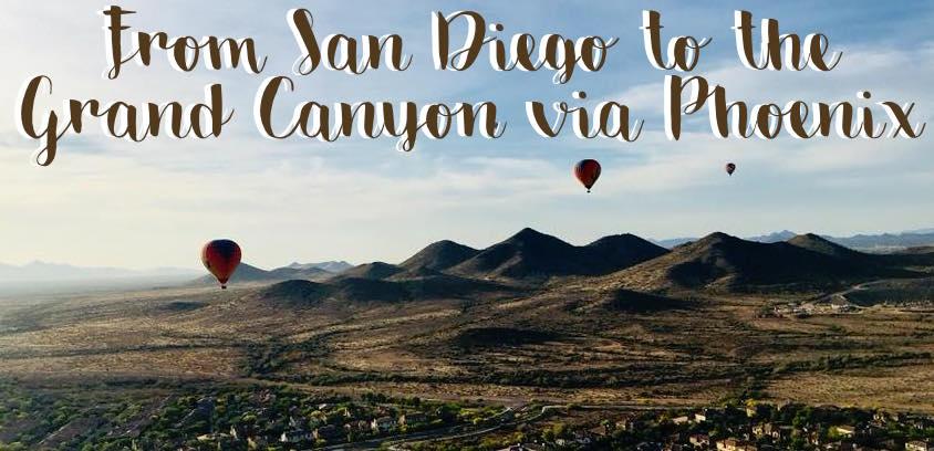 Simonas Corner Of Dreams From San Diego To The Grand Canyon Via