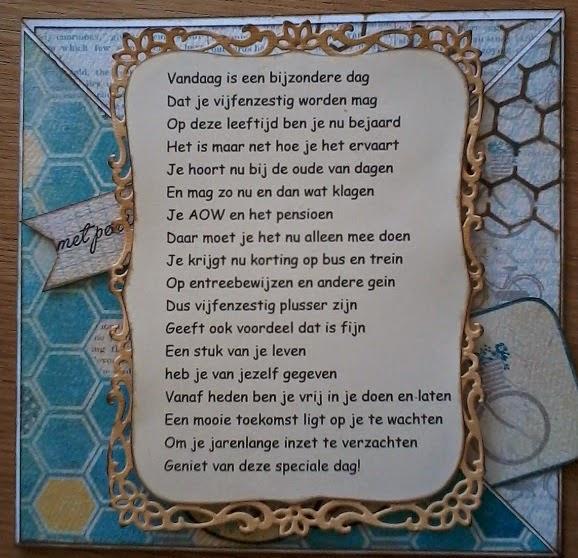65 jaar gedicht 65 Jaar Verjaardag Gedicht   ARCHIDEV 65 jaar gedicht