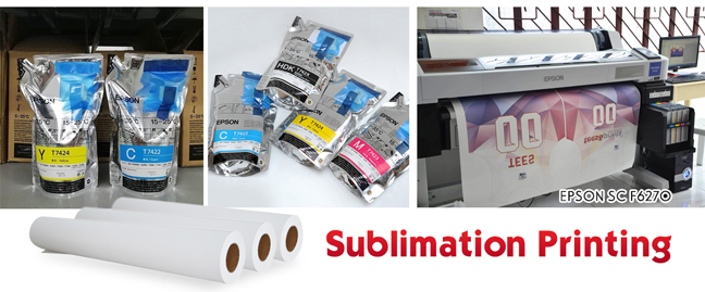 What's Sublimation Printing Process and Waht Materials You
