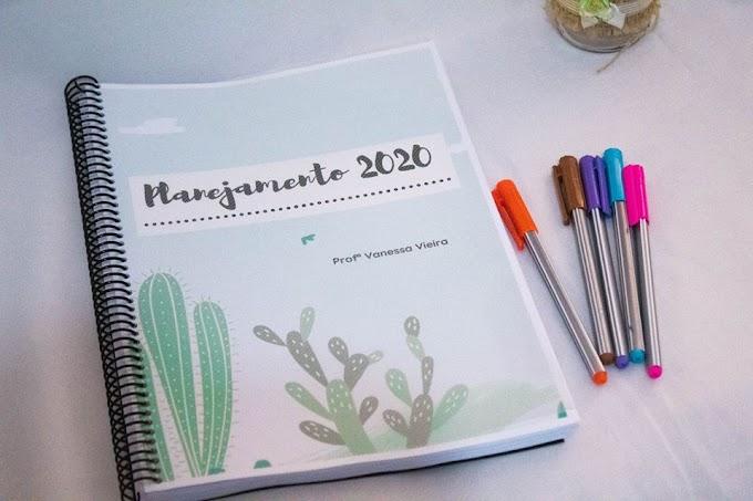 Planner para professores 2020