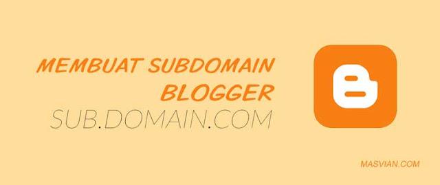 subdomain blogger