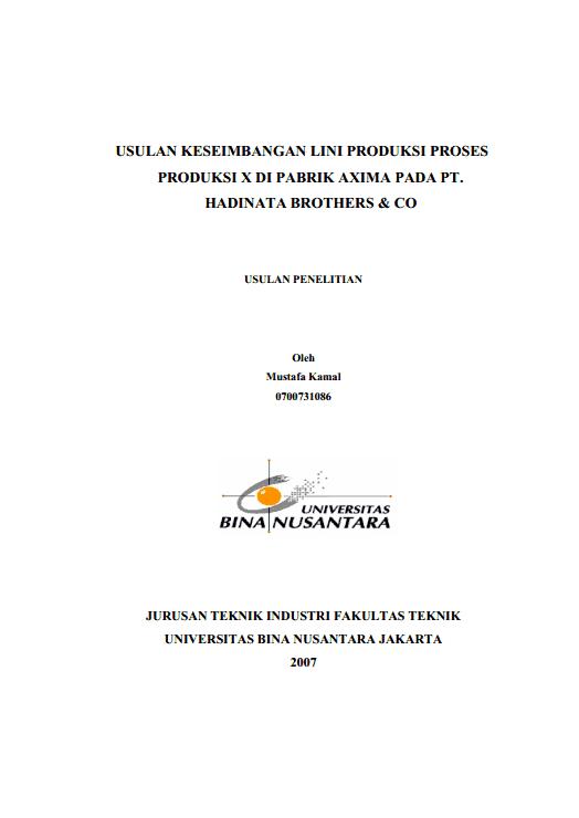 Contoh Proposal Tesis Hukum Temblor En