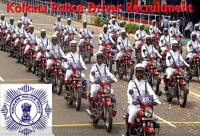 Kolkata%2BPolice%2BDriver%2BRecruitment Online Form Job Sarkari on