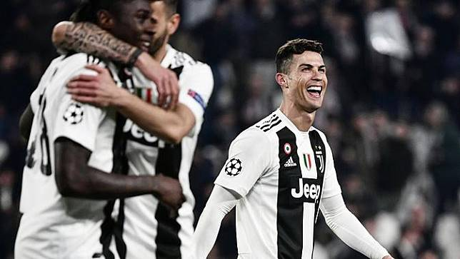 Cristiano Ronaldo Hattrick, Saham Juventus Melambung Tinggi