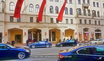 Słynny hotel Kempiński