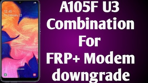 samsung A105F combination downgrade modem file download