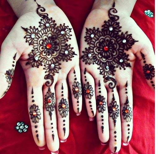 Mehndi Design For Wedding Day