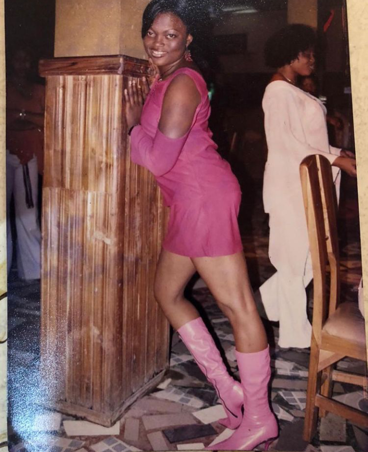 Actress Funke Akindele Bello Tensions Instagram With Her Throwback Pictures