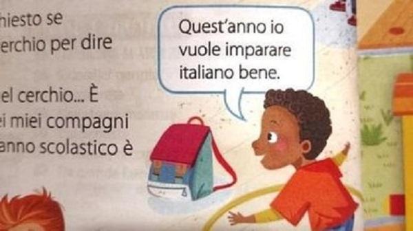 Scuola: fa scalpore il libro di testo razzista