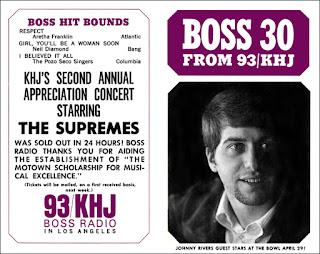 KHJ Boss 30 No. 93 - Johnny Rivers