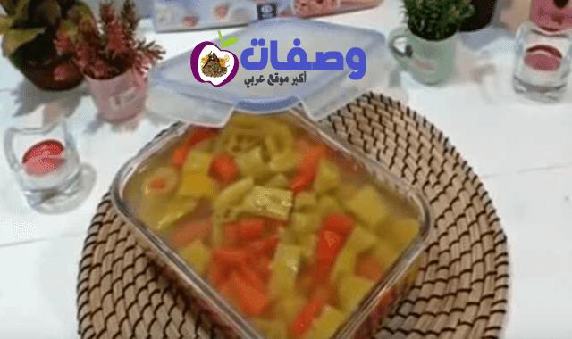 مخلل فلفل فاطمه ابو حاتي