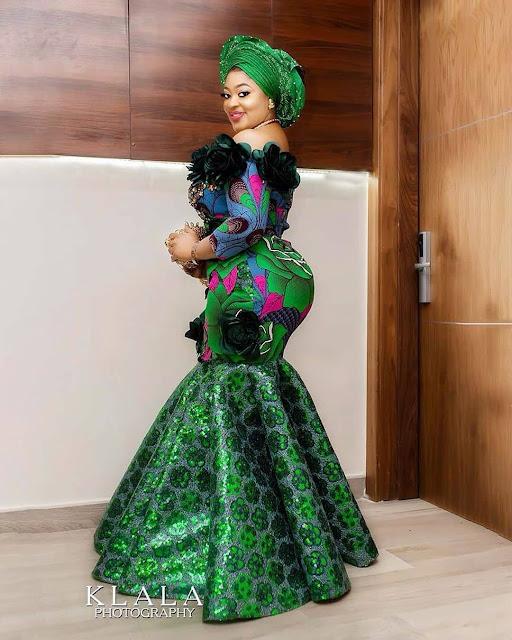 The 20 Best of Owambe Aso Ebi Dresses 59