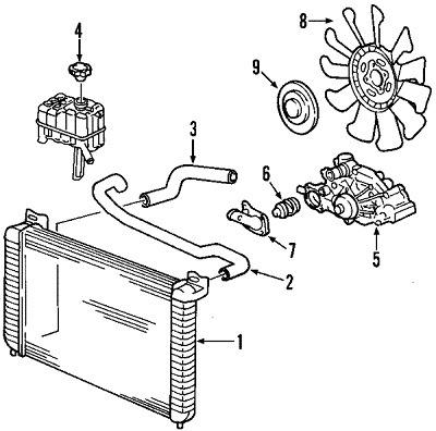Wiring Diagrams - GMC Yukon 2006 Radiator Diagrams