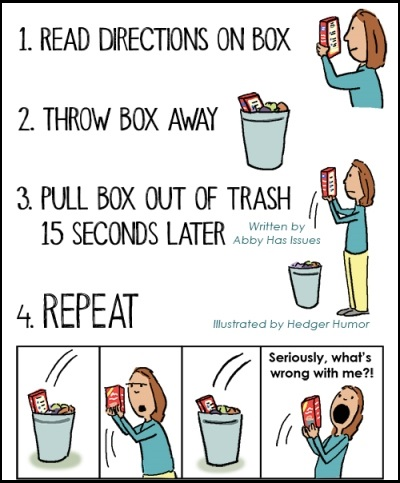 When you read the instructions, then read them again, and then again.... #quotes #humor