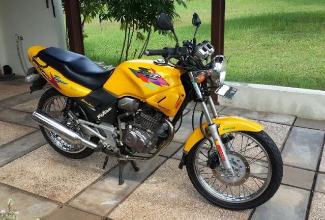 Honda Tiger 2000 Legenda GL Series Sering Di Bilang GL-200