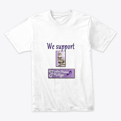 We Support Foster Mama Kittys (100% of profits donated)