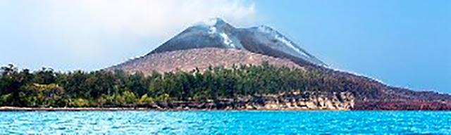 Gambar Gunung Krakatau Di Lampung