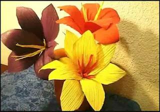 Cara Membuat Kolase Bunga Dari Kulit Jagung Yang Simple Sebagai Hiasan