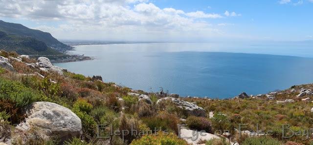 Looking over False Bay from Elsie's Peak