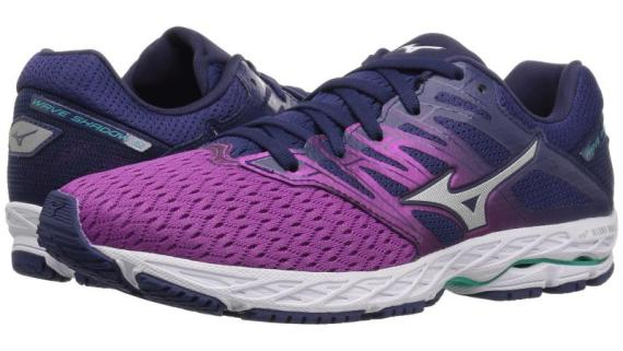 7df3e1106f5b Colour availability: Blue Jewel/White/Safety Yellow (Men's) and Purple  Wine/Silver/Patriot Blue (Women's) Mizuno Wave Shadow 2 is ...
