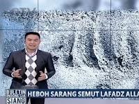 Video: Saking Hebohnya Sarang Semut Lafadz Allah Diliput TV & Sebabkan Kemacetan 50 Meter