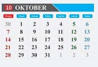 ika anda bertanya, hari ini peringatan apa? bulan ini ada peringatan apa saja? atau ingin mengetahui tanggal merah dan libur di bulan Oktober, mungkin nama-nama hari penting dan peringatan nasional dan internasional di bulan Oktober berikut dapat menjawab pertanyaan anda.