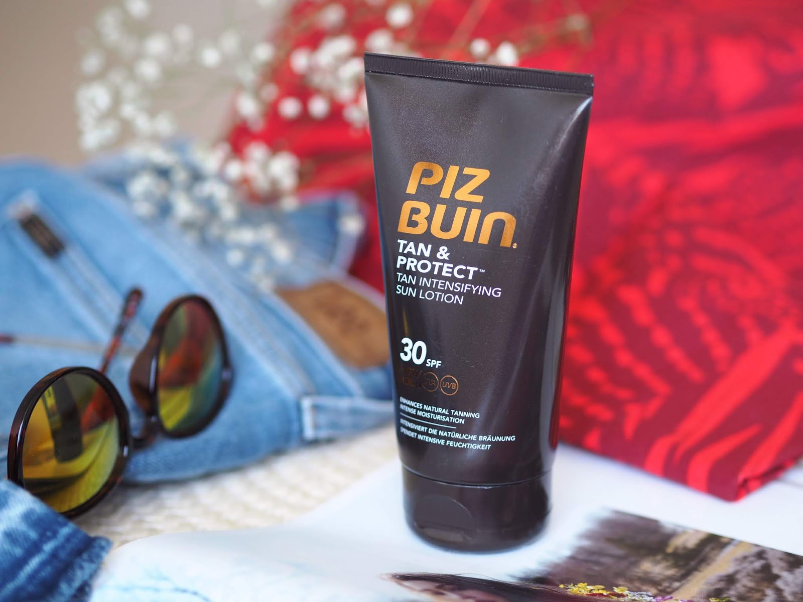 Piz Buin Tan & Protect Tan Intesifying Sun Lotion SPF 30_mlieko na opalovanie