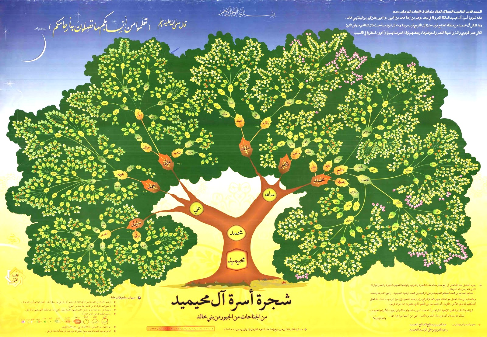 م ك ت ب ة ع ل و م الن س ب Genealogical Library Science