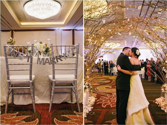 A Neutral Winter Wedding In San Antonio Texas Belle The