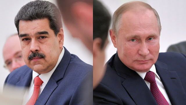 Putin y Maduro hablan por teléfono sobre la situación en torno a la pandemia de coronavirus