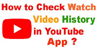 how to watch again watched videos on youtube