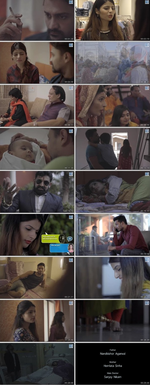 Screen Shot Of Mobile vs Life 2019 300MB HDRip 480P Full Hindi Movie Watch Online Free Download