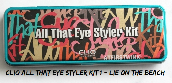 Review: Clio All That Eye Styler Kit 1 - Lie on the beach