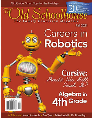 Fall Edition of Homeschool Magazine in Stores Now