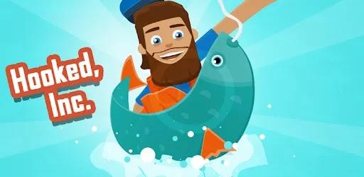 استمتع بأسلوب الصيد الخامل مع طريقة لعب بسيطة Hooked Inc: Fisher Tycoon