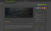 Dark, Elegant and SEO Friendly Blogger Template
