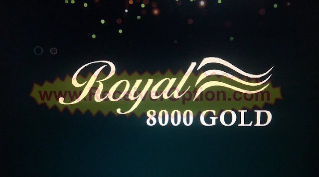 ROYAL 8000 GOLD HD RECEIVER NEW SOFTWARE