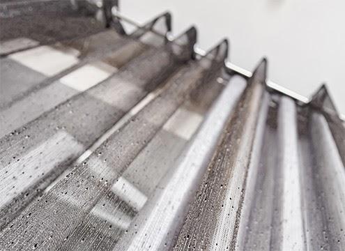 蛇行簾|天然纖維材質穿管式蛇行簾