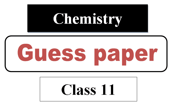 1st year chemistry guess paper 2021 pdf download