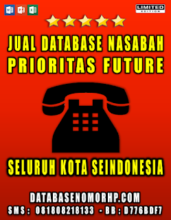 Jual Database Nasabah Future