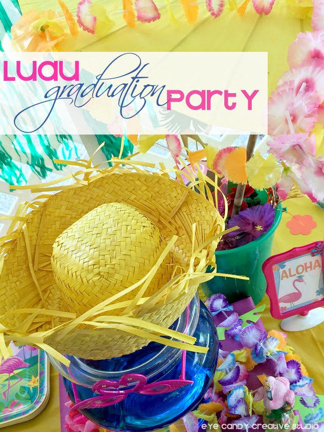 luau party, graduation party, luau ideas, aloha, leis, summertime