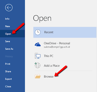 Cara Konversi File PDF Ke Word dengan Microsoft Word Itu Sendiri