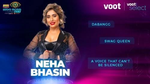 Bigg Boss OTT Contestant 5 - Neha Bhasin