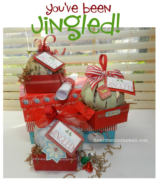 youve been jingled is the christmas version of the halloween youve been booed its another fun way to present christmas treats to family and friends - Cheap Christmas Gifts For Family