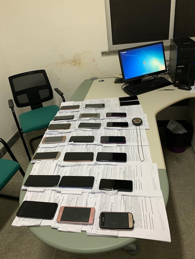 Polícia recupera e devolve aos donos 22 celulares roubados na Grande Fortaleza