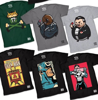 Marvel Comics Parody T-Shirt Collection by Johnny Cupcakes