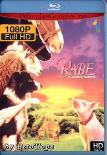 Babe El Cerdito Valiente [1995] [1080p BRrip] [Latino-Inglés] [GoogleDrive] Rafaga