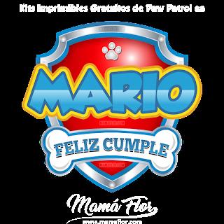 Logo de Paw Patrol: MARIO