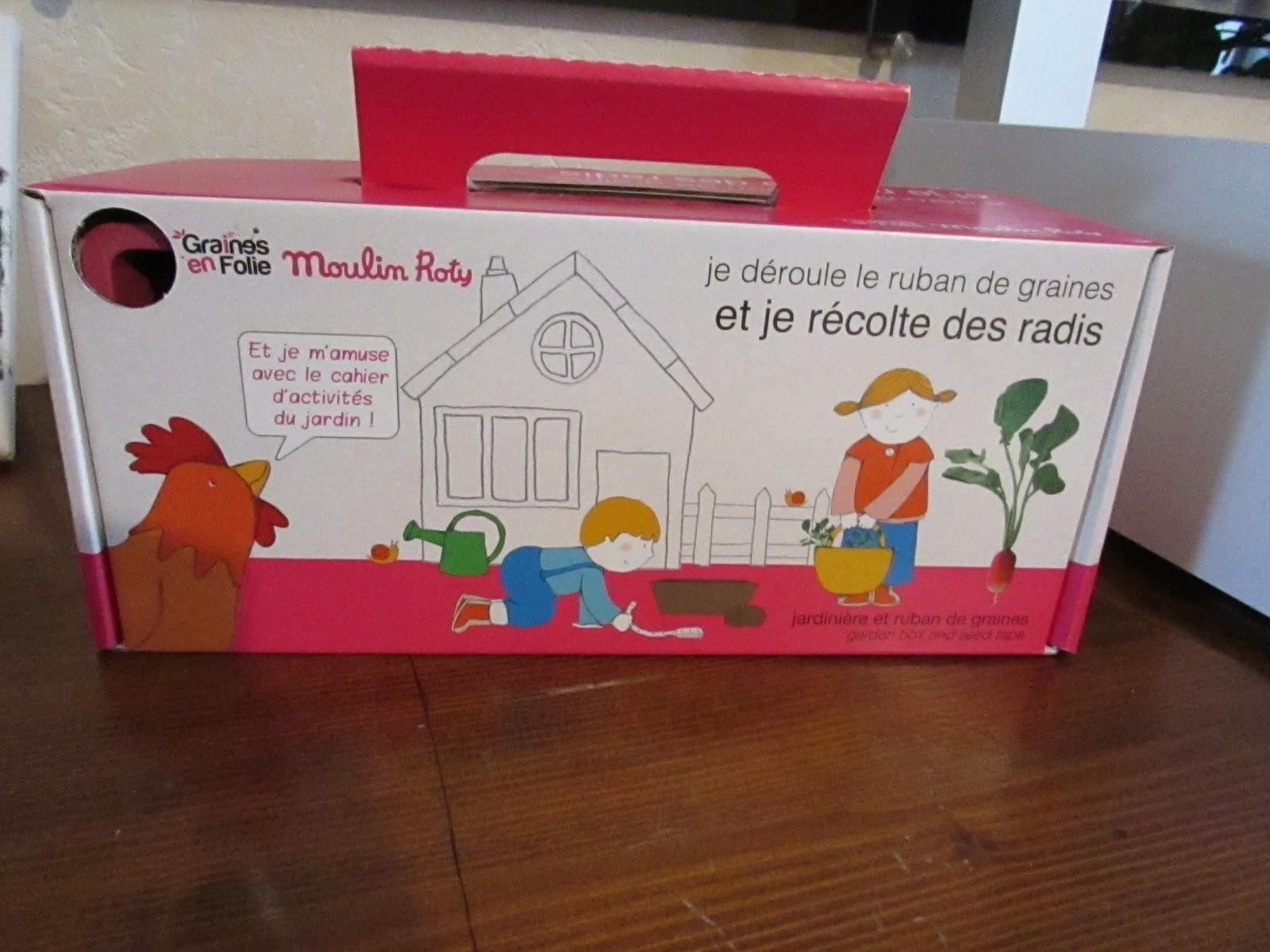 blog de maman deuxfoismaman parent et enfants cultiver des radis facilement avec mon vert. Black Bedroom Furniture Sets. Home Design Ideas