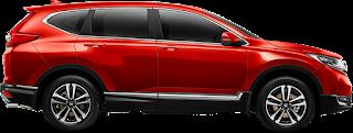 crv turbo merah